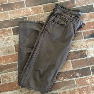 Saks 5th Avenue straight leg 5 pckt pant brown 34